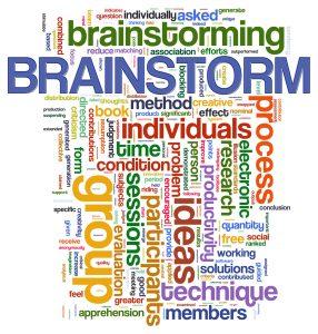 brainstorm a book